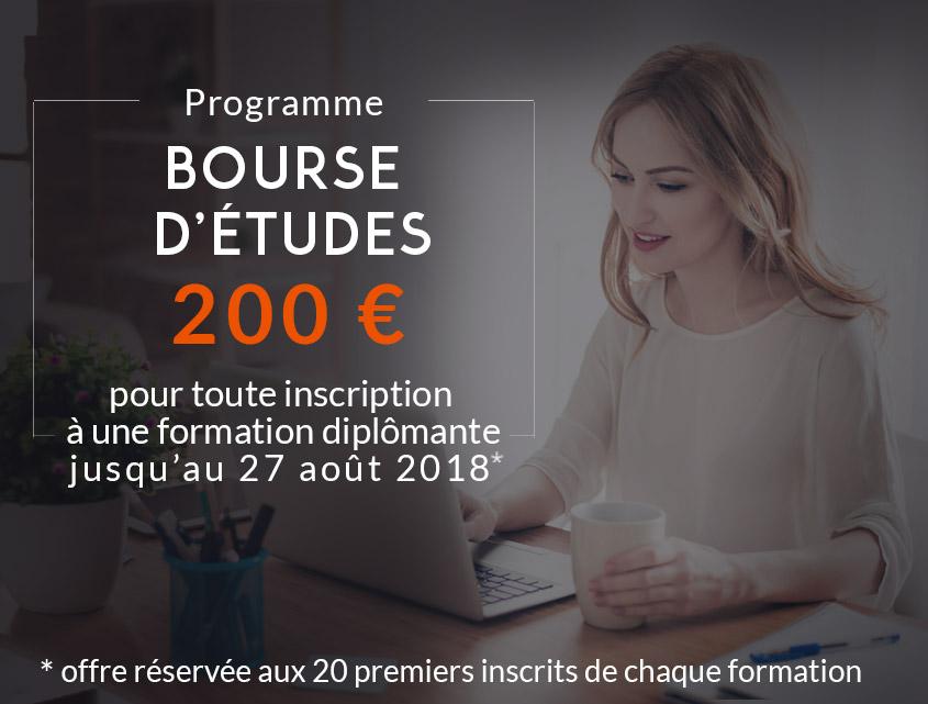 1 Bourse d'études de 200 €
